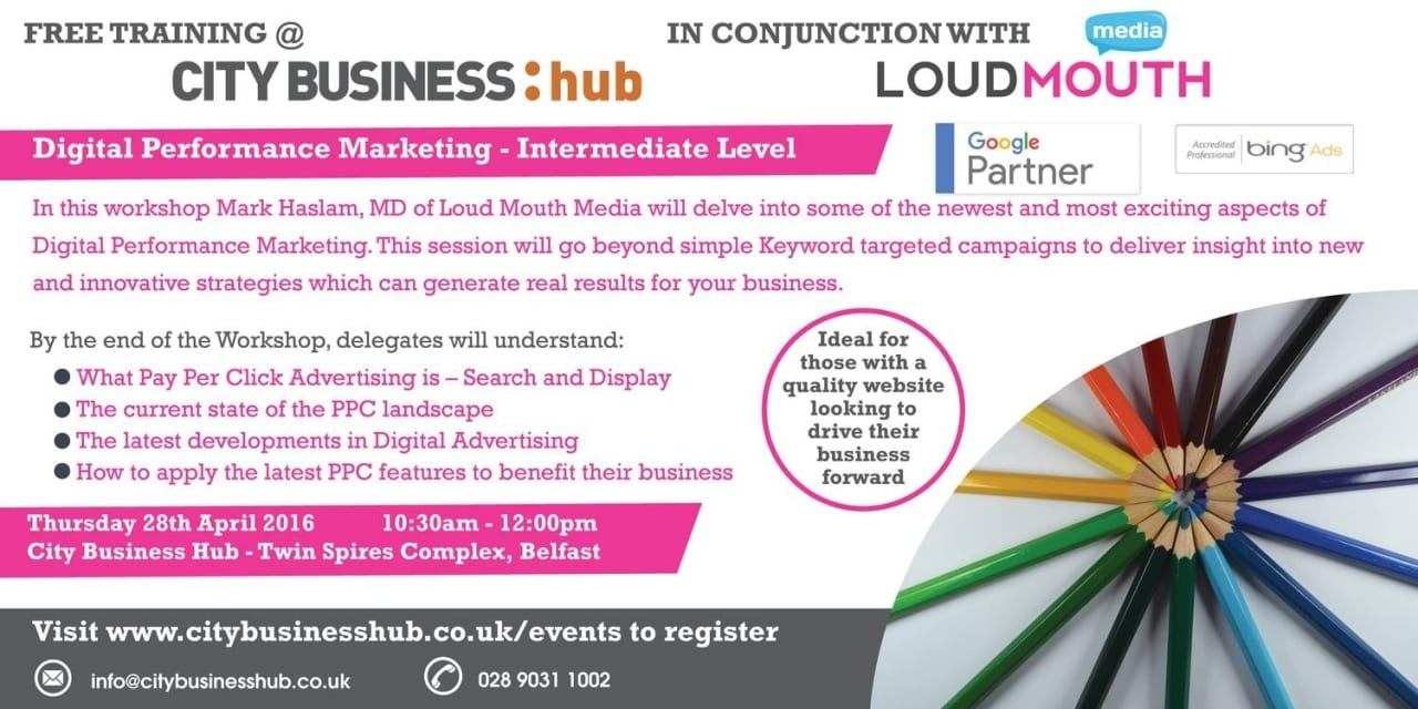 CBH Event – Digital Performance Marketing with Loud Mouth Media