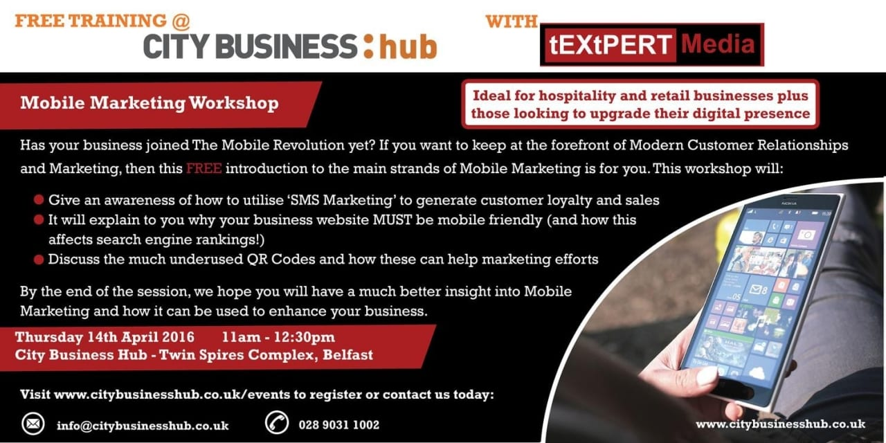 CBH Event – Mobile Marketing with Textpert Media