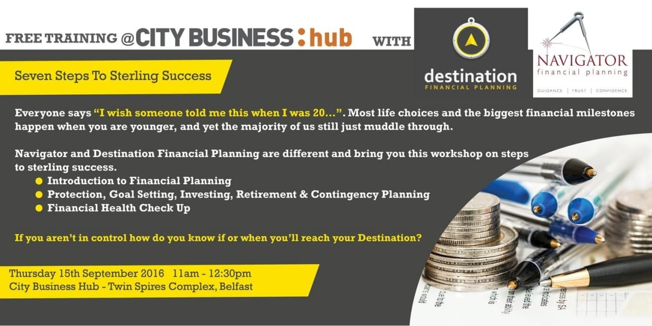 CBH Event – Seven Steps To Sterling Success