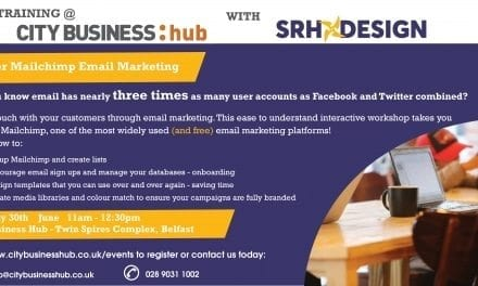 CBH Event – Mailchimp Email-Marketing with SRH Design