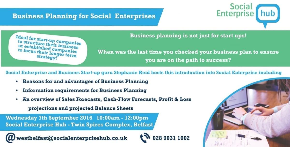 Business Planning for Social Enterprises