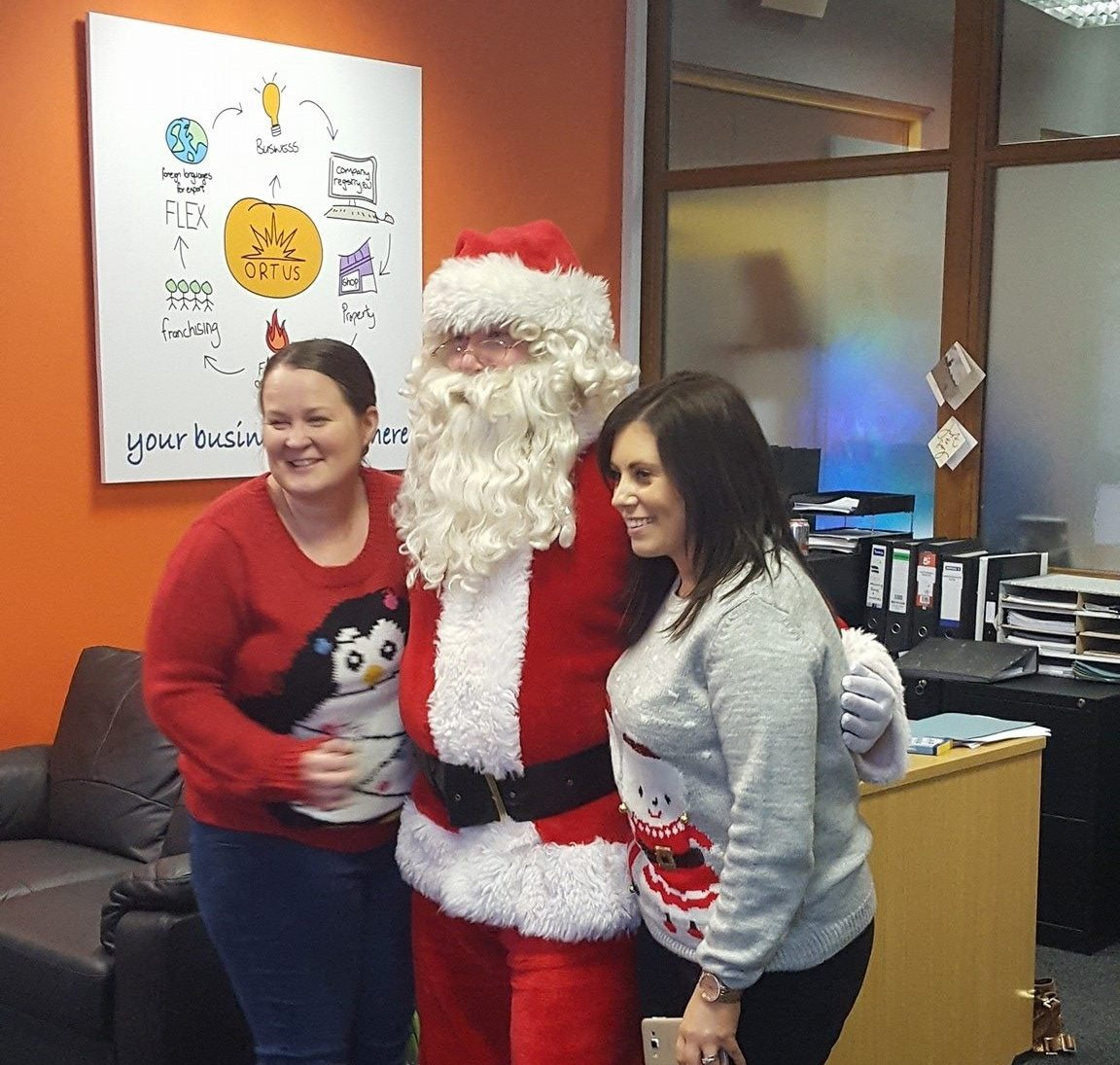 Christmas Jumper Day 2016 - The Ortus Group