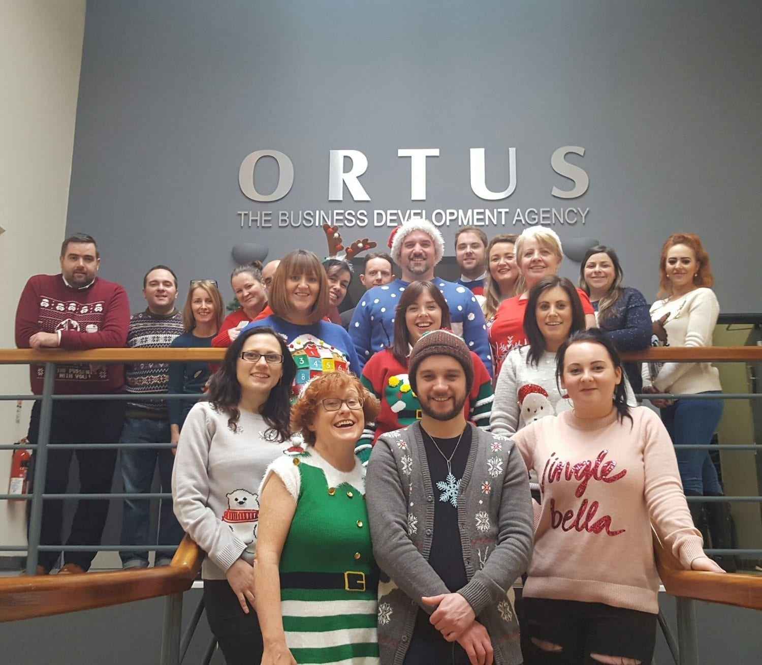 Team Ortus Christmas Jumper Day