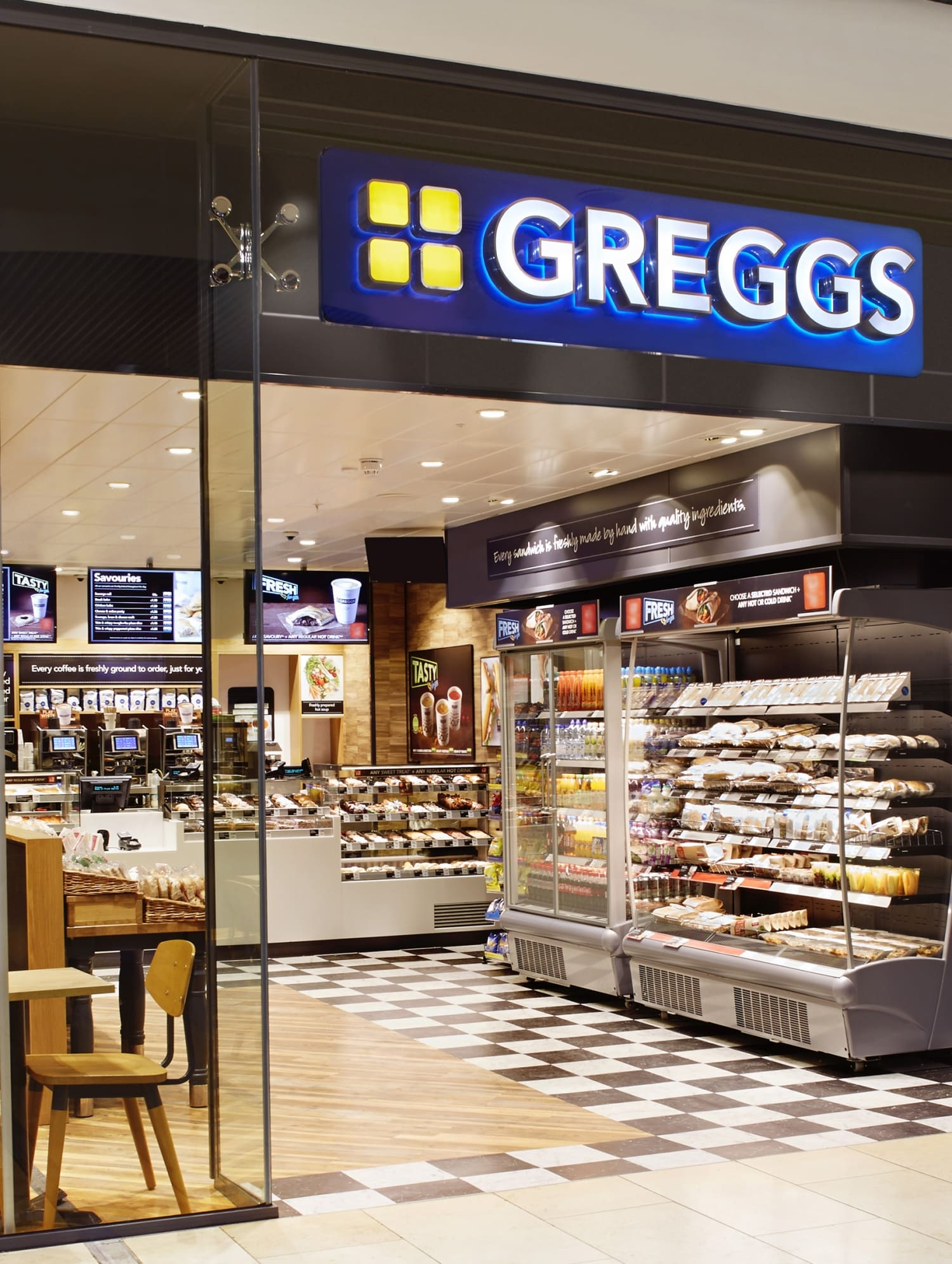 Greggs Opens at Twin Spires Complex - Ortus