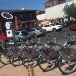 Coca Cola Zero Belfast Bikes Wheel into Twin Spires Complex