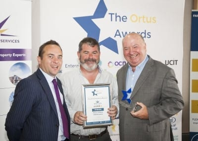 Sean Toal, Ortus Property, Denis O'Kane, OK Windows, Noel Rooney, Ortus Board of Directors
