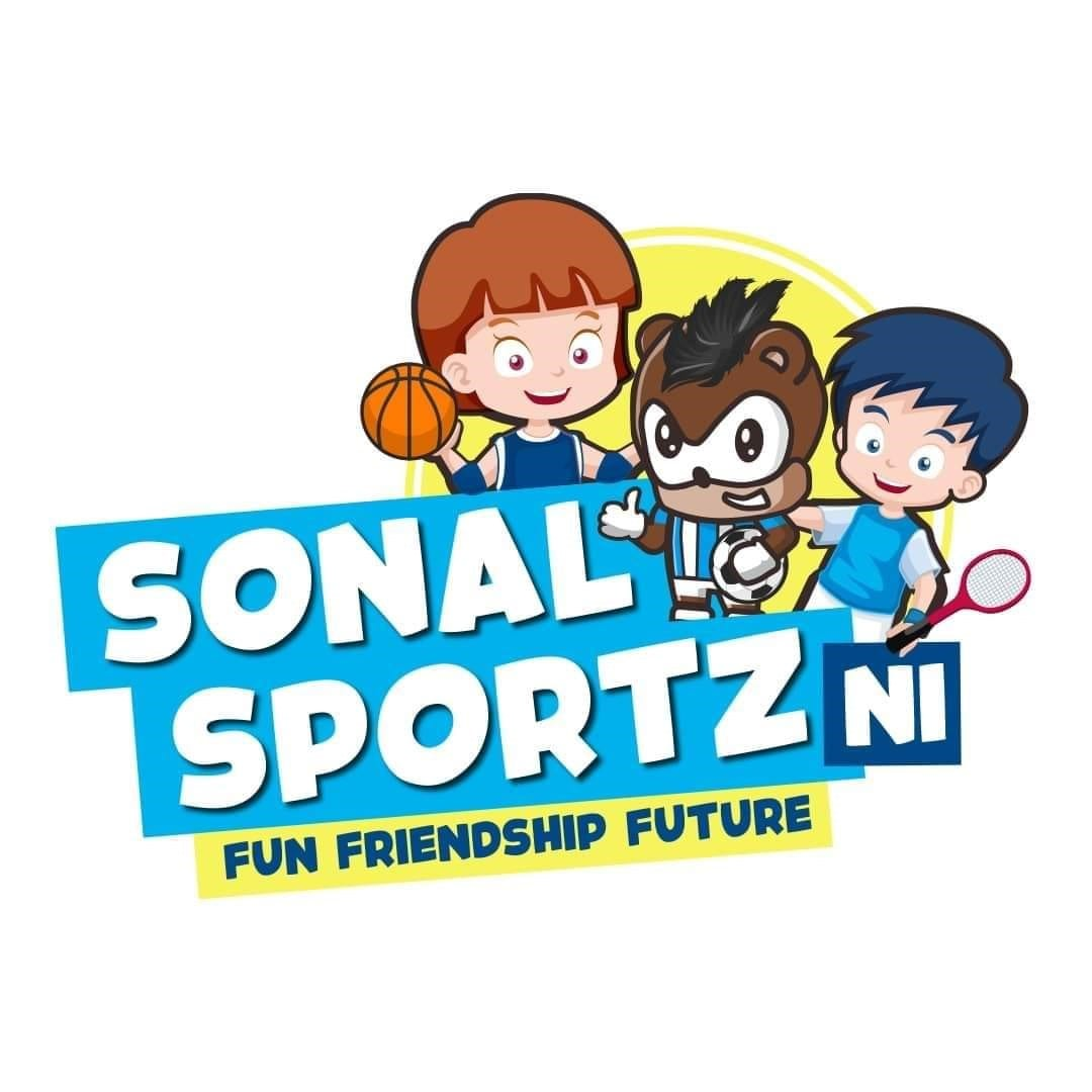 sonal sportz - football kids basket ball